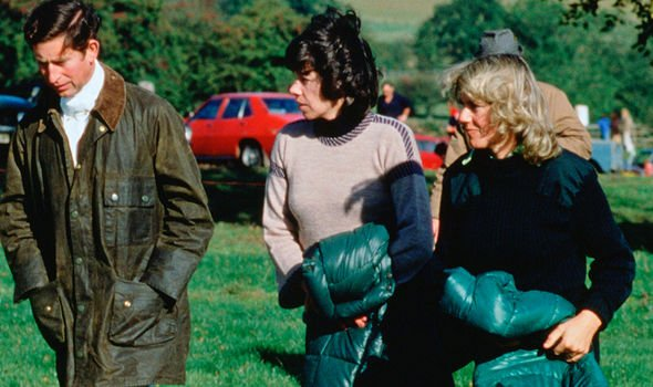 Charles and Camilla pictured together in 1979, before the Prince of Wales courted Diana