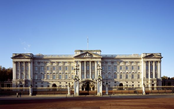Buckingham Palace front view
