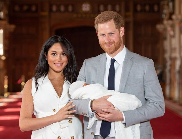 Archie Harrison title: Sussex couple