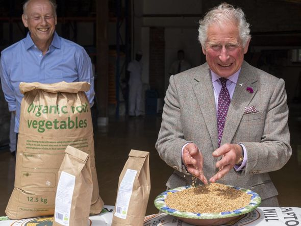 Charles also spoke about how his staff employed by his Prince's Foundation were affected