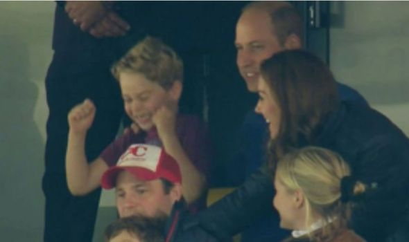 Kate Middleton: William and Kate were besides themselves with laughter