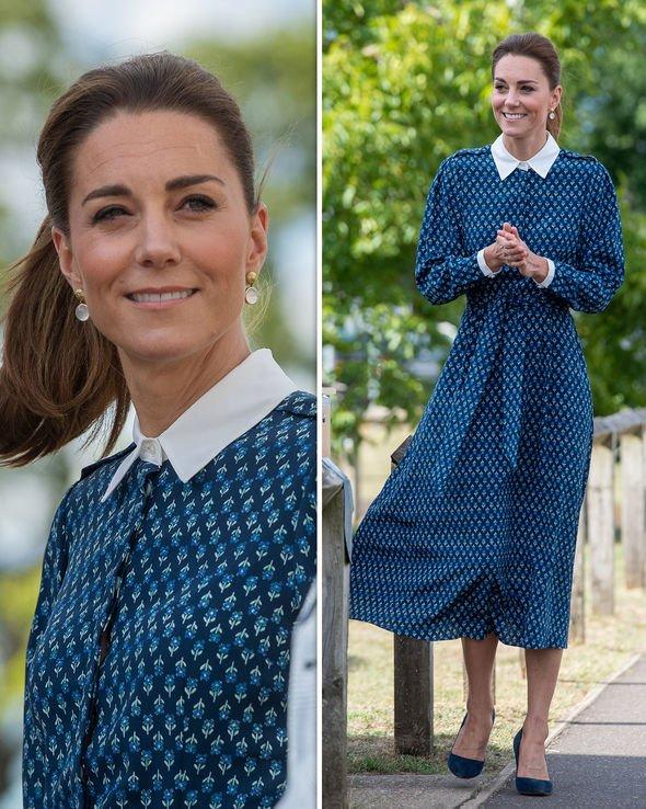 Kate Middleton style news - NHS visit