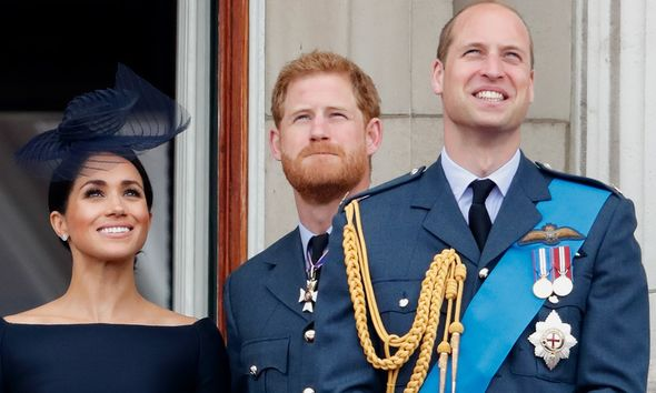 Meghan Markle, Harry and William
