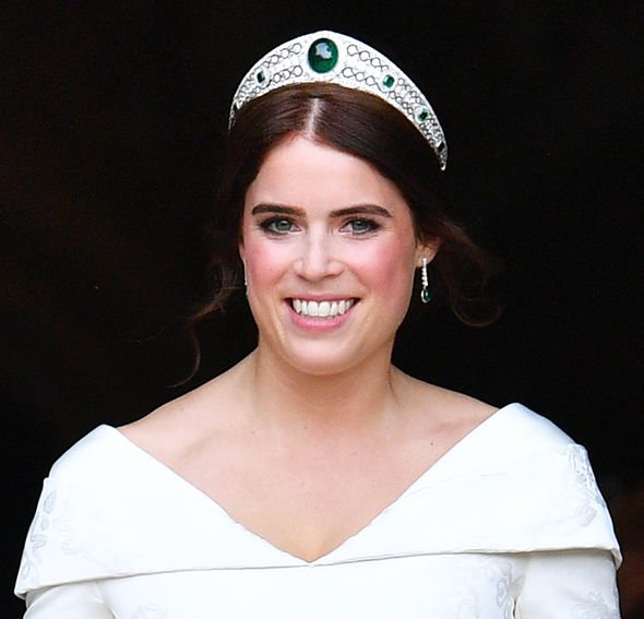 Meghan Markle: Princess Eugenie wedding tiara
