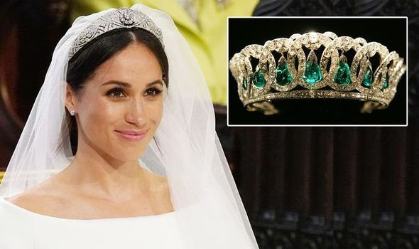 Meghan Markle: wedding tiara royal