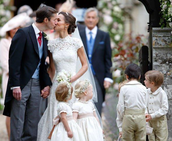 Pippa Middleton wedding: Pippa married James Matthews in 2017