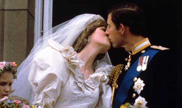 Prince Charles and Diana's wedding