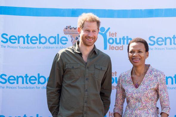 Prince Harry heartbreak: Prince Harry in Botswana
