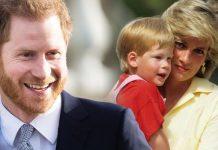 Prince Harry tribute: Harry and Princess Diana