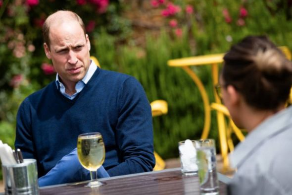 Prince William admitted he didn't know where to pay