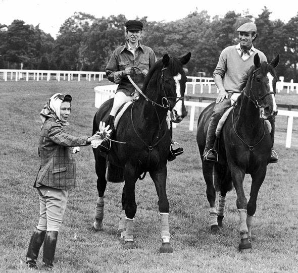 Princess Anne: Anne and Queen Elizabeth royal ascot