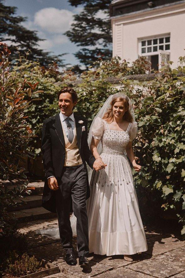 Princess Beatrice height: Couple