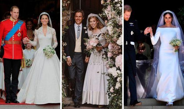 Princess Beatrice wedding: Beatrice, Meghan and Kate