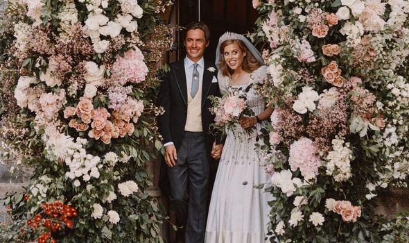 Princess Beatrice wedding: Beatrice and Edoardo