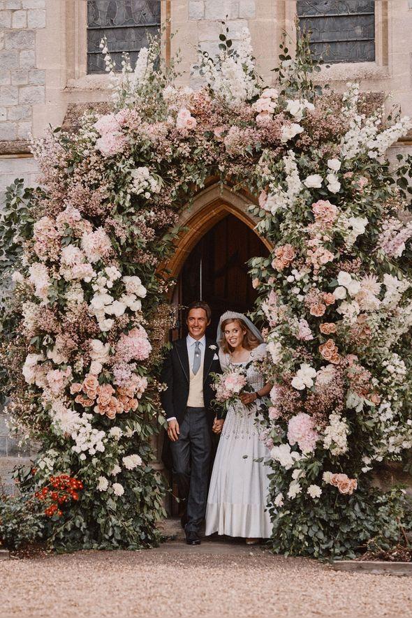 Princess Beatrice wedding: The wedding day
