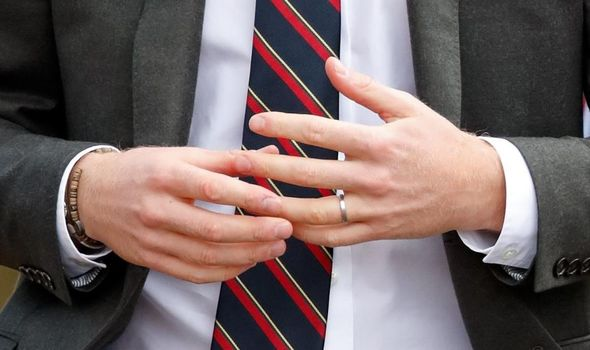 Princess Beatrice wedding: Prince Harry wedding ring