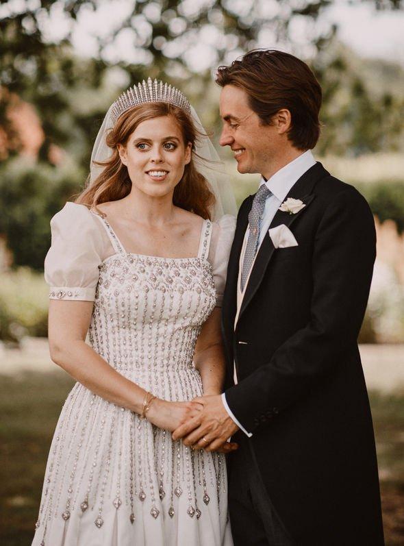 Princess Beatrice wedding: Beatrice and Edoardo wedding photos