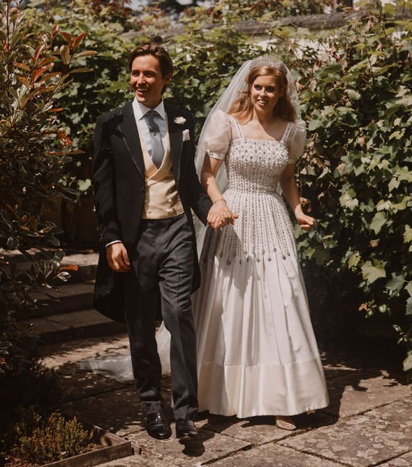 Princess Beatrice wedding: Royal wedding photos