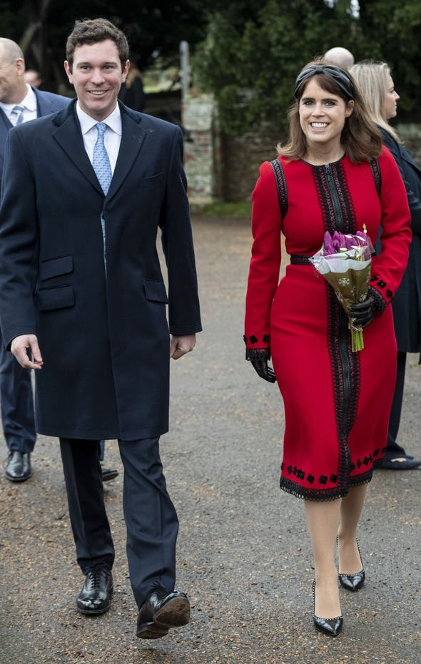 Princess Eugenie and husband Jack Brooksbank