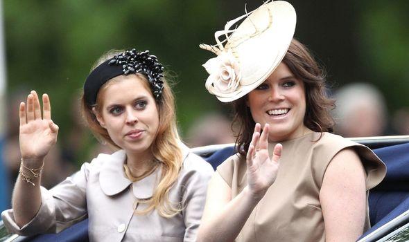 Princess Eugenie name: Princess Beatrice and Princess Eugenie