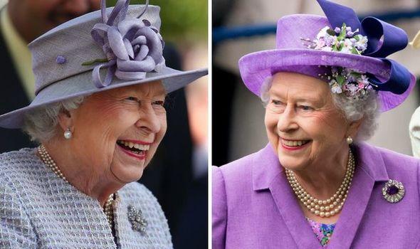 Queen Elizabeth II delight