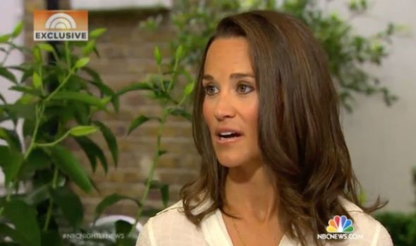 Royal bullying: Pippa said she had received abuse online post-2011