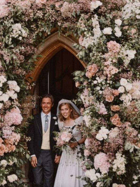 Royal news: The pair wed on Friday