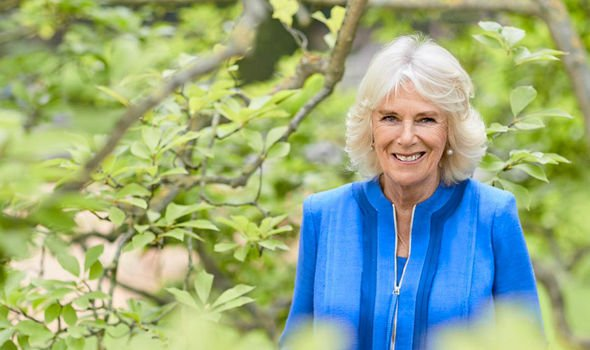 camilla news camilla duchess of cornwall birthday new picture clarence house garden