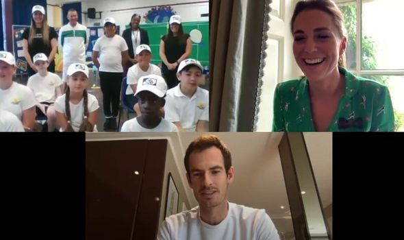 kate middleton andy murray video tennis prince william aston villa royal family