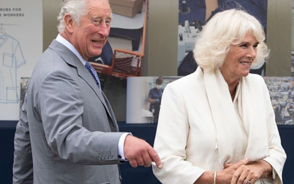 prince charles camilla duchess of cornwall asda centre bristol