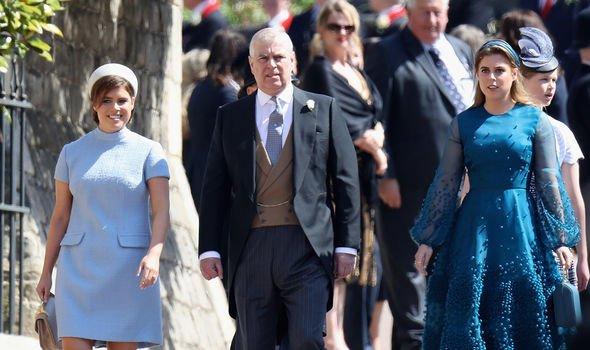 princess beatrice princes eugenie royal family