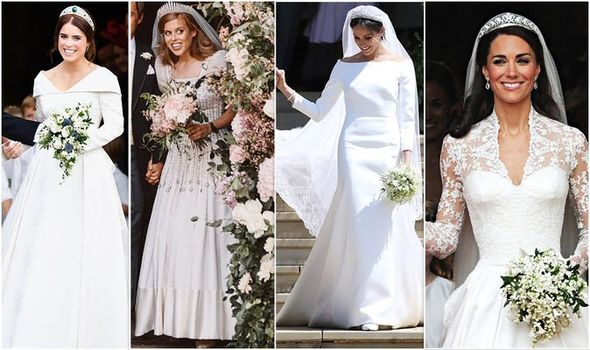 Princess Beatrice Wedding Dress How Does It Compare To Eugenie