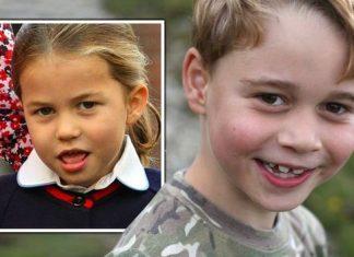 princess charlotte news prince george birthday photos