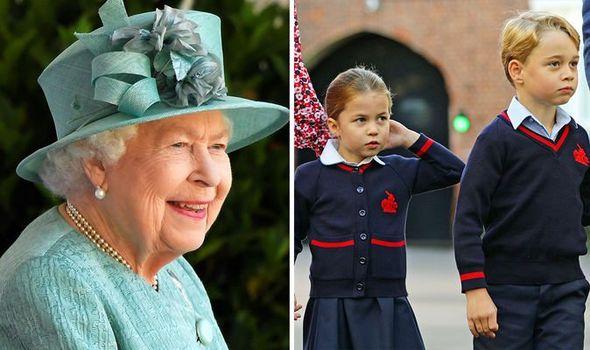 queen elizabeth ii charlotte george