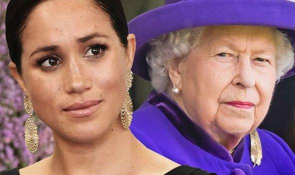 queen elizabeth ii meghan markle