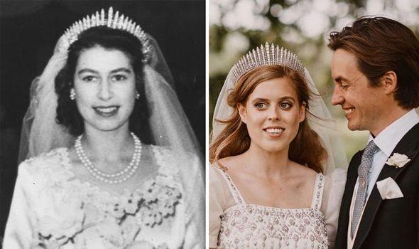 queen elizabeth ii princess beatrice
