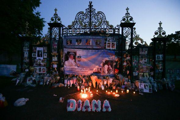 Princess Diana vigil