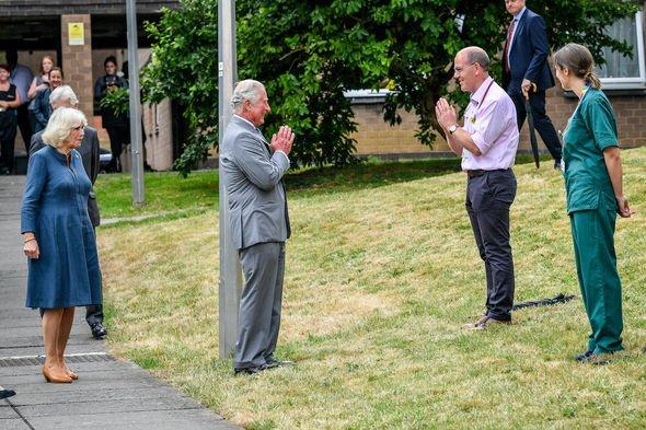 Royal fury: Prince Charles