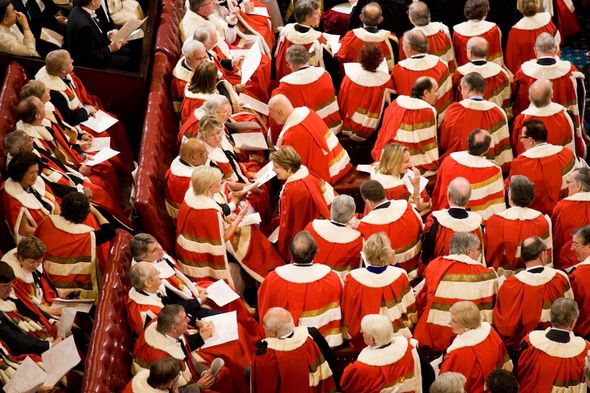 Royal rules: House of Lords