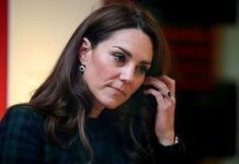 Kate Middleton looking off camera