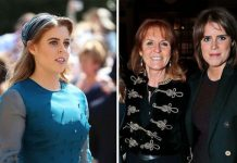 Princess Beatrice, Sarah Ferguson and Princess Eugenie