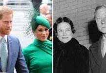 Prince Harry, Meghan Markle, Wallis Simpson and Edward VIII, later the Duke of Windsor