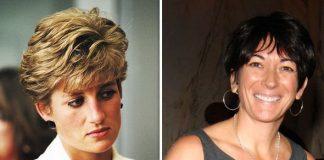 Princess Diana and Ghislaine Maxwell