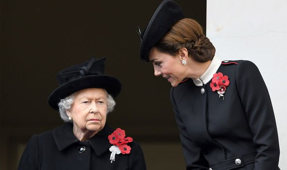Kate has been said to share some qualities with the Queen