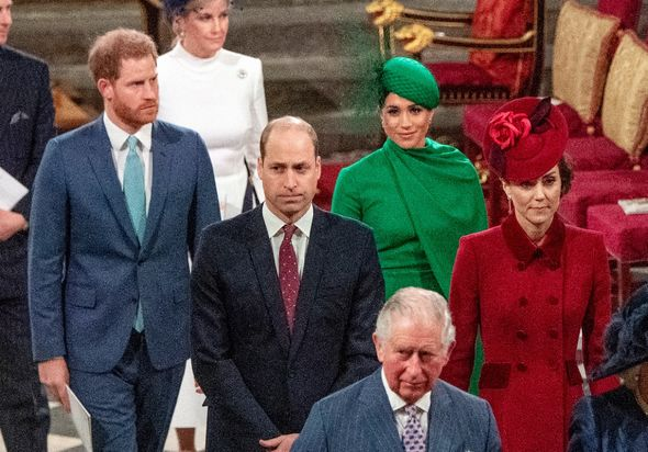Kate, Meghan, Harry and William