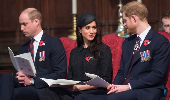 Harry allegedly thought William had shown signs of