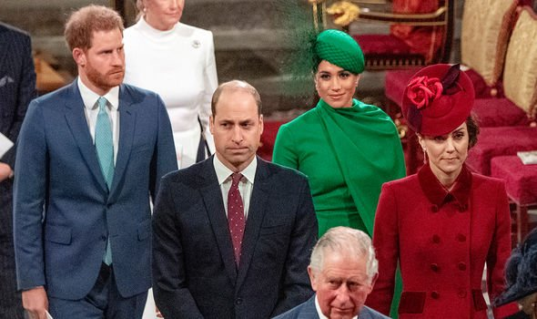 Royal Family news: Tensions between the Cambridges and the Sussexes were palpable back in March