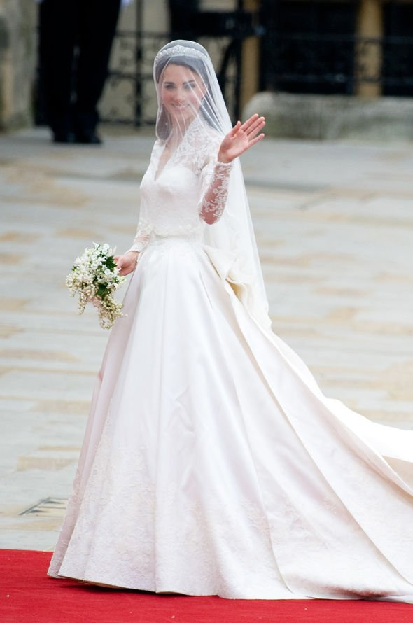 Grace Kelly: Kate Middleton wedding dress
