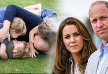 Kate Middleton, William and their children