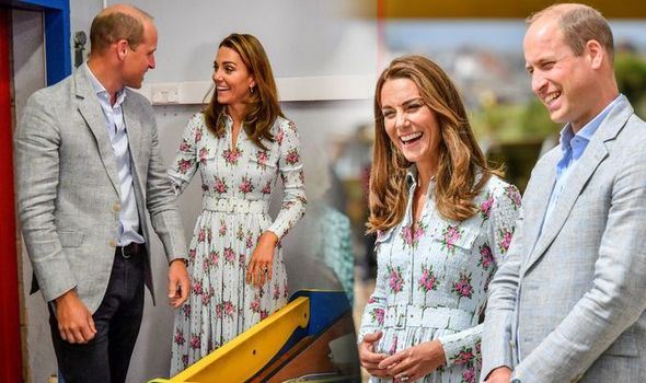Kate Middleton and Prince William in Wales